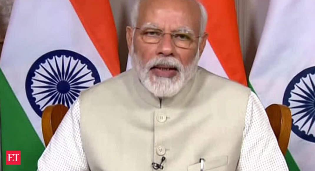 COVID-19 به ما امکان توسعه پروتکل های جدید در هر زمینه را داده است: PM Modi – ویدئو اقتصادی تایمز